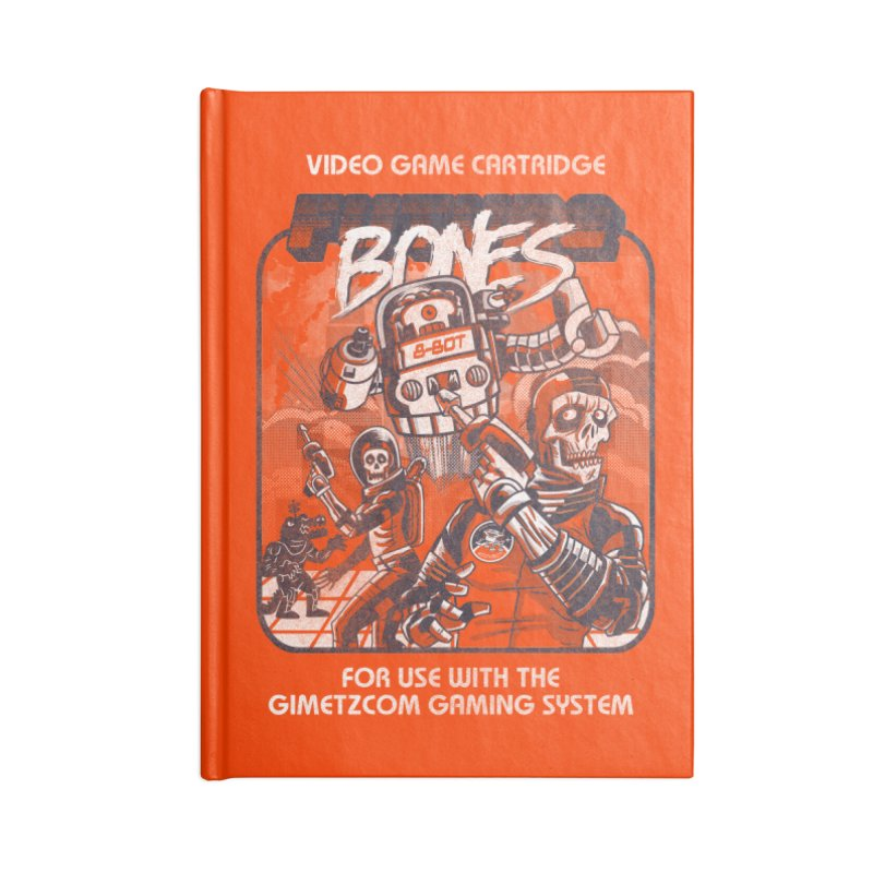 Future Bones Accessories Notebook by Gimetzco's Artist Shop