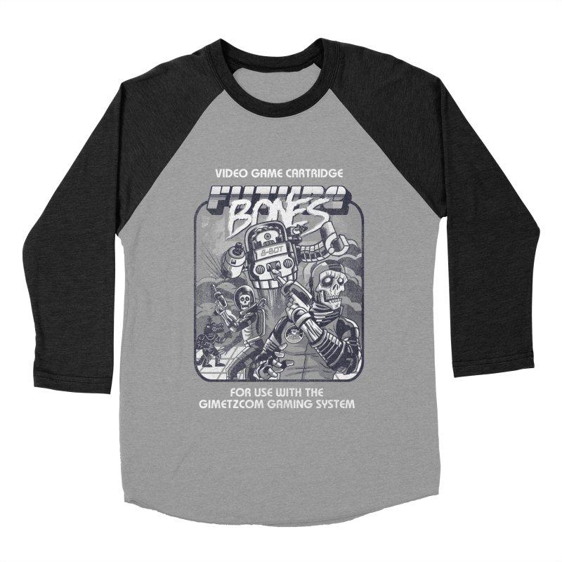 Future Bones Women's Baseball Triblend T-Shirt by Gimetzco's Artist Shop