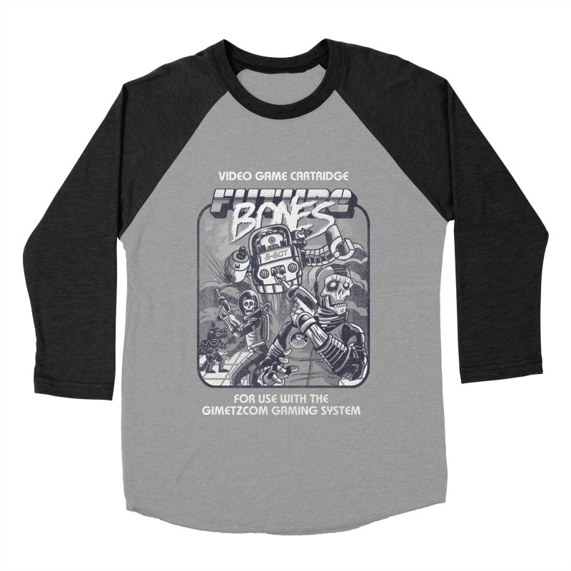 Future Bones Men's Baseball Triblend T-Shirt by Gimetzco's Artist Shop