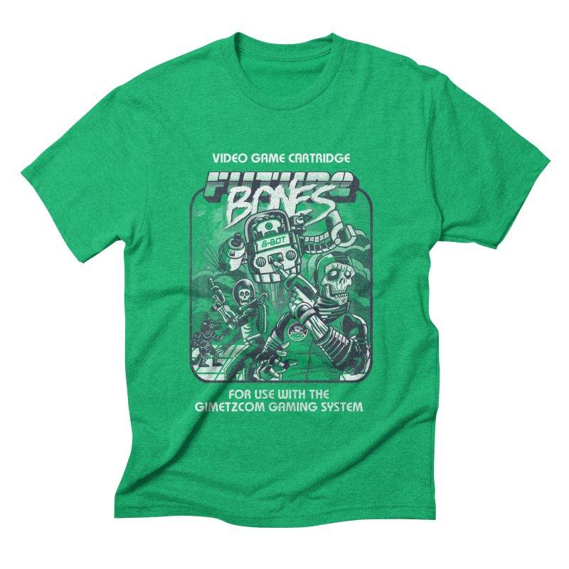 Future Bones Men's Triblend T-shirt by Gimetzco's Artist Shop