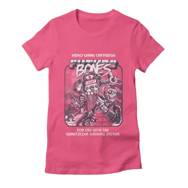 Future Bones Women's Fitted T-Shirt by Gimetzco's Artist Shop