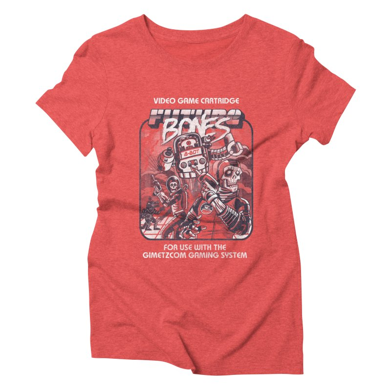 Future Bones Women's Triblend T-shirt by Gimetzco's Artist Shop