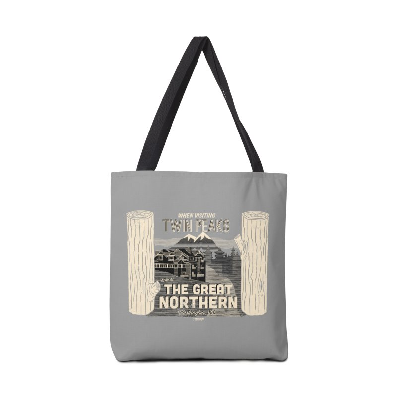 the great northern Accessories Bag by Gimetzco's Damaged Goods