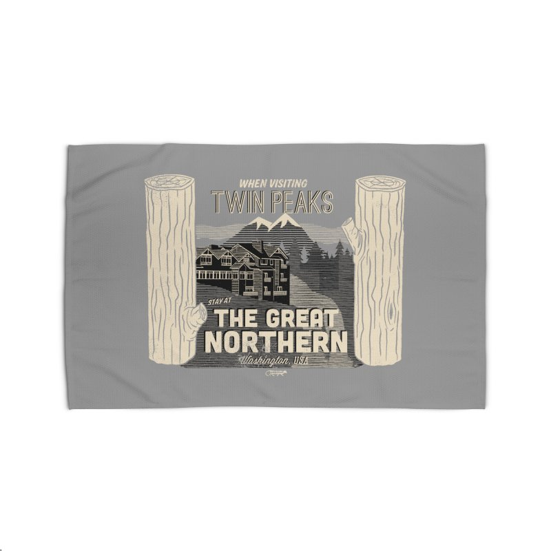 the great northern Home Rug by Gimetzco's Damaged Goods