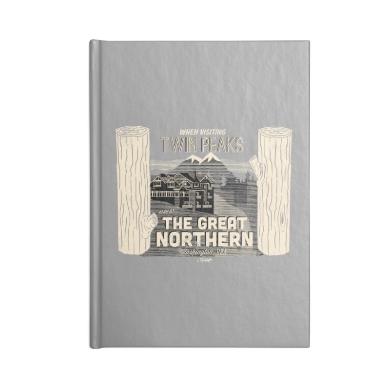 the great northern Accessories Notebook by Gimetzco's Damaged Goods