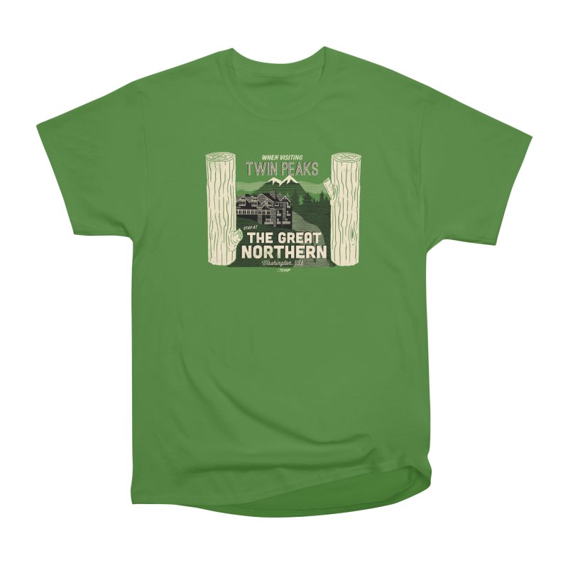 the great northern Women's Classic Unisex T-Shirt by Gimetzco's Artist Shop