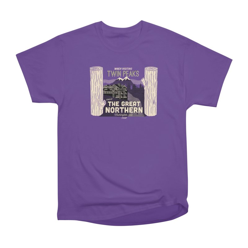 the great northern Men's Classic T-Shirt by Gimetzco's Artist Shop
