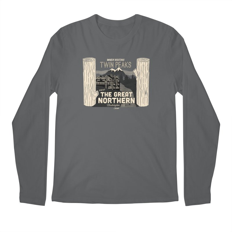 the great northern Men's Longsleeve T-Shirt by Gimetzco's Damaged Goods