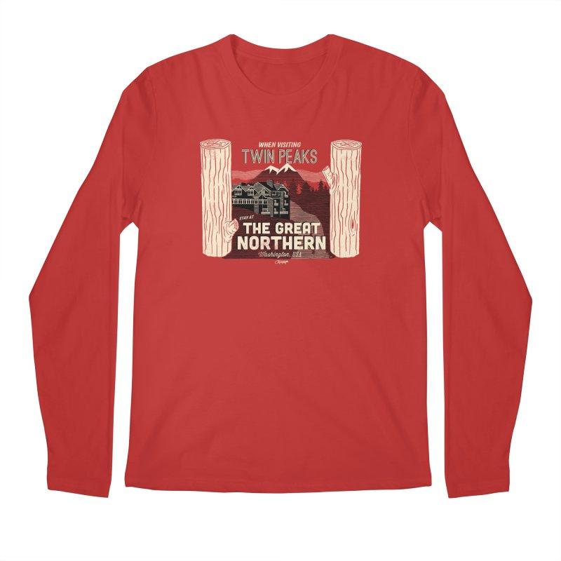the great northern Men's Longsleeve T-Shirt by Gimetzco's Artist Shop