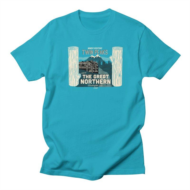 the great northern Women's Unisex T-Shirt by Gimetzco's Artist Shop