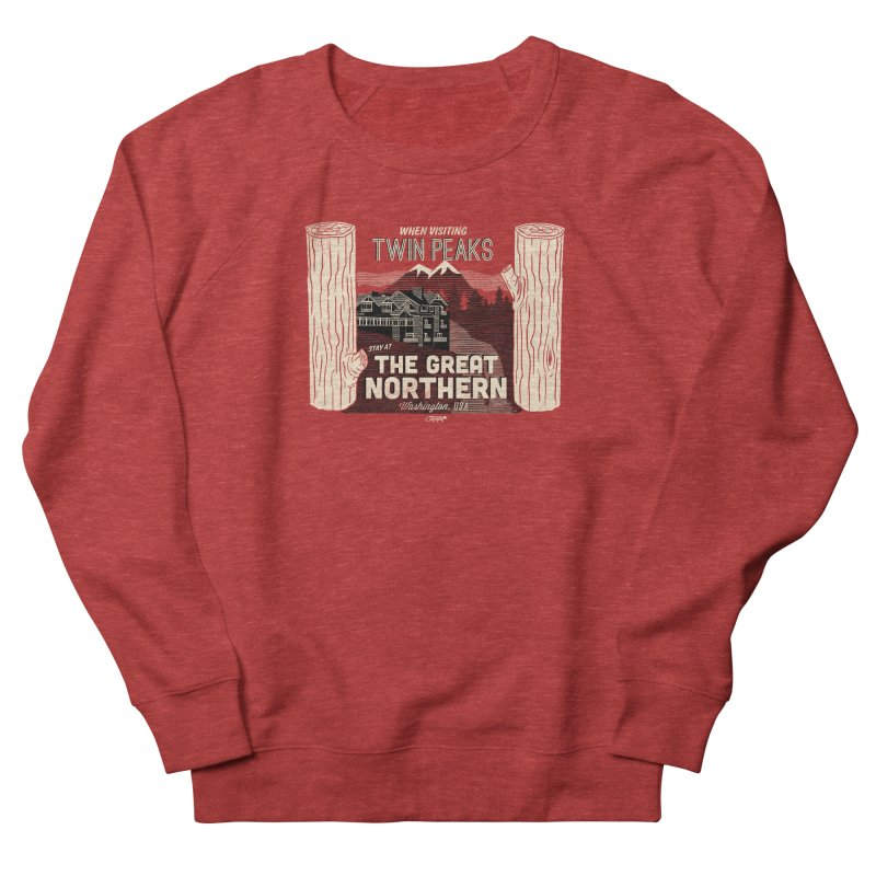 the great northern Women's Sweatshirt by Gimetzco's Damaged Goods