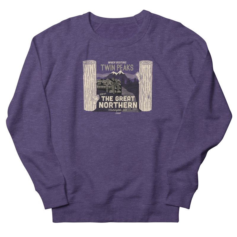 the great northern Men's Sweatshirt by Gimetzco's Artist Shop