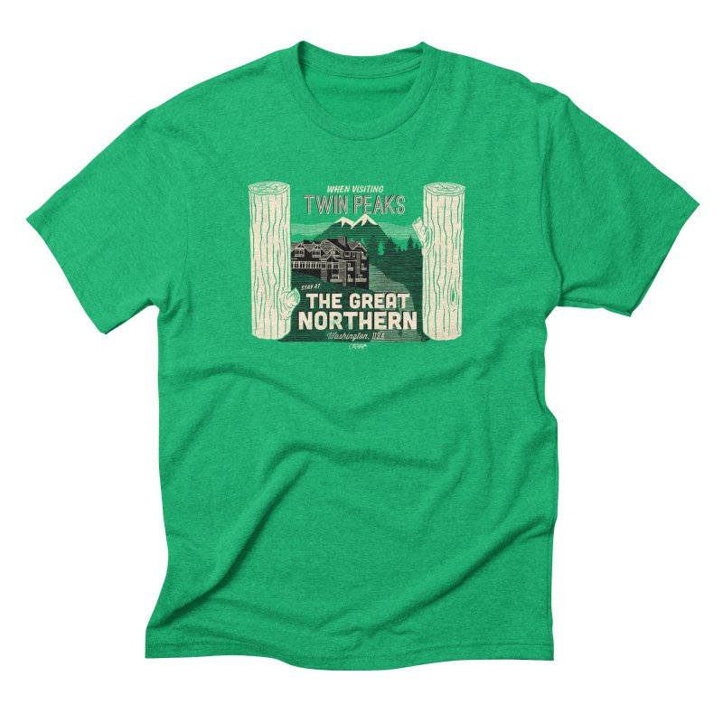 the great northern Men's Triblend T-Shirt by Gimetzco's Damaged Goods