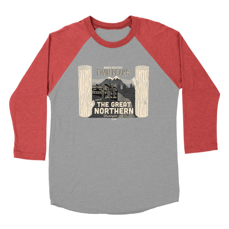 the great northern Men's Baseball Triblend T-Shirt by Gimetzco's Artist Shop