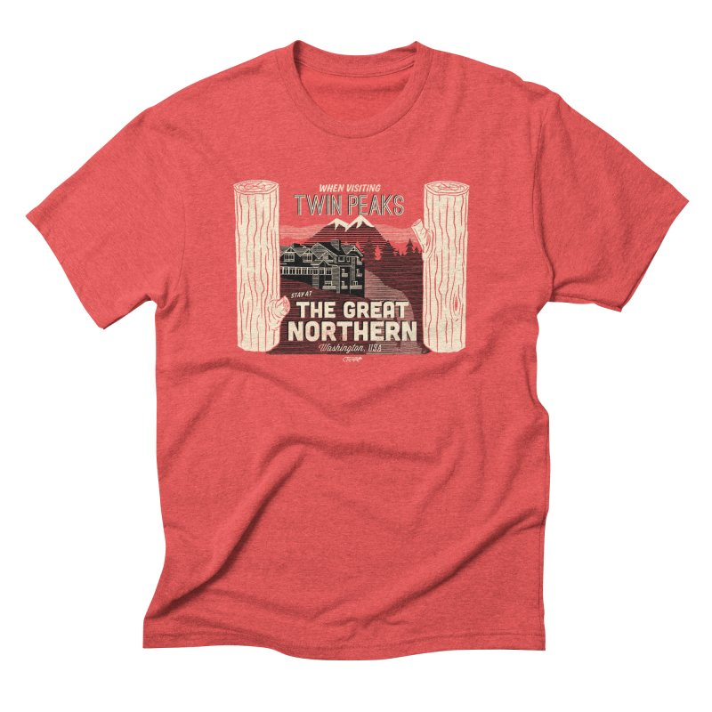 the great northern Men's Triblend T-shirt by Gimetzco's Artist Shop