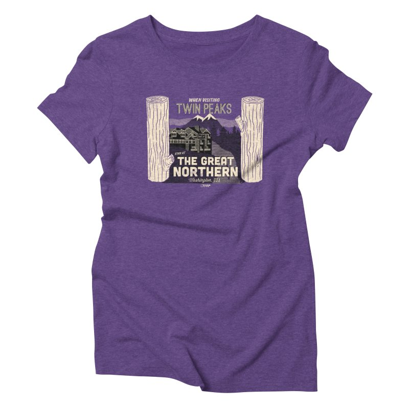 the great northern Women's Triblend T-Shirt by Gimetzco's Damaged Goods