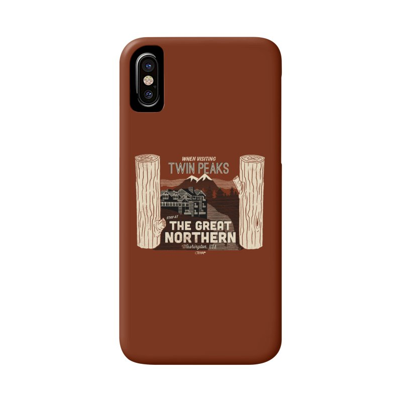the great northern Accessories Phone Case by Gimetzco's Artist Shop