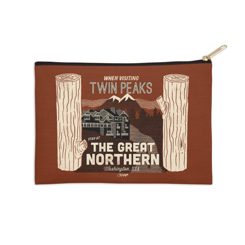 the great northern Accessories Zip Pouch by Gimetzco's Damaged Goods