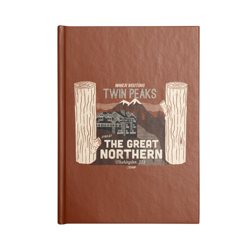 the great northern Accessories Notebook by Gimetzco's Artist Shop