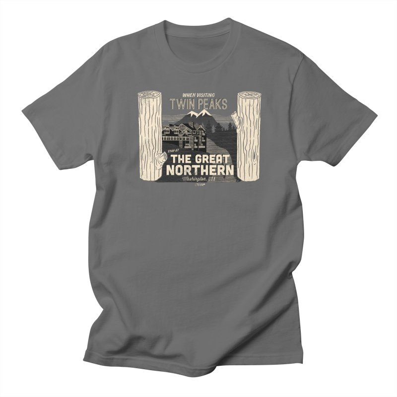 the great northern Men's T-Shirt by Gimetzco's Damaged Goods