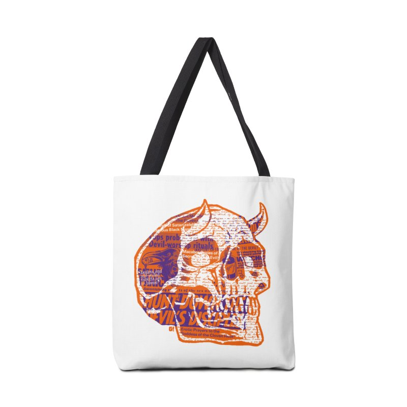 Satanic Panic Accessories Bag by Gimetzco's Damaged Goods