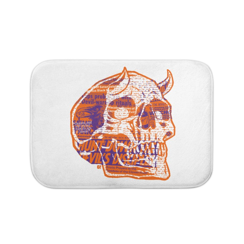 Satanic Panic Home Bath Mat by Gimetzco's Artist Shop