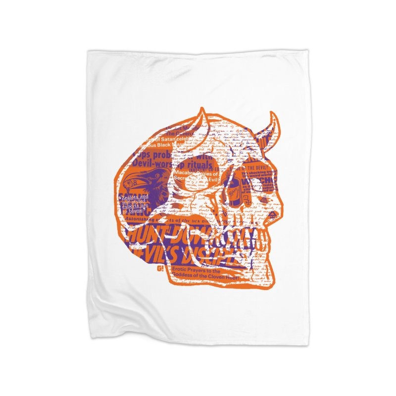 Satanic Panic Home Blanket by Gimetzco's Damaged Goods