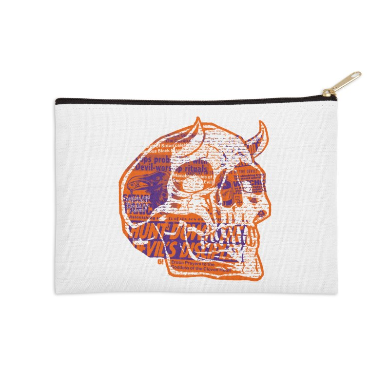 Satanic Panic Accessories Zip Pouch by Gimetzco's Damaged Goods