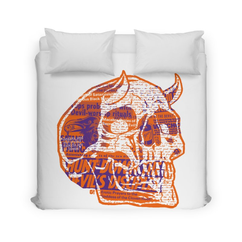 Satanic Panic Home Duvet by Gimetzco's Damaged Goods