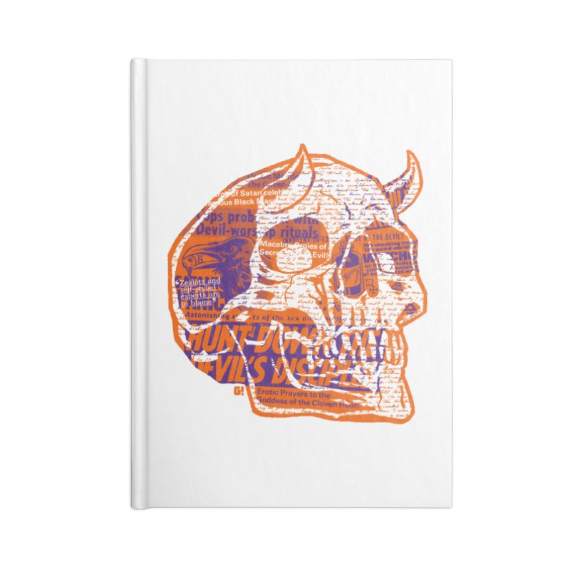 Satanic Panic Accessories Notebook by Gimetzco's Artist Shop