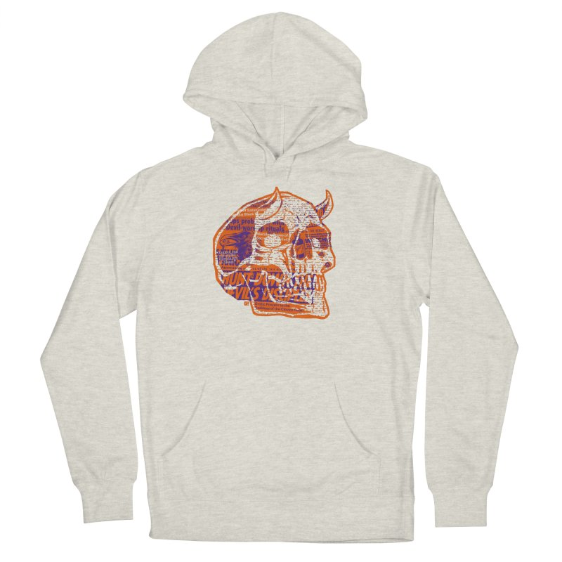 Satanic Panic Women's French Terry Pullover Hoody by Gimetzco's Damaged Goods