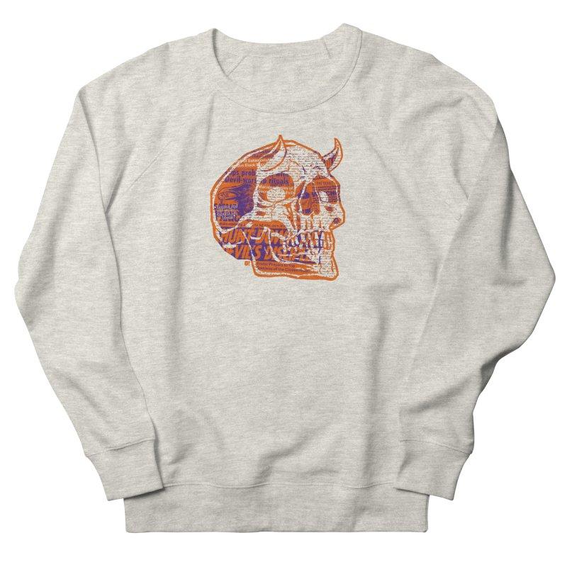Satanic Panic Women's French Terry Sweatshirt by Gimetzco's Damaged Goods