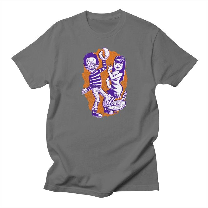 Big Eyed Kids Men's T-Shirt by Gimetzco's Damaged Goods
