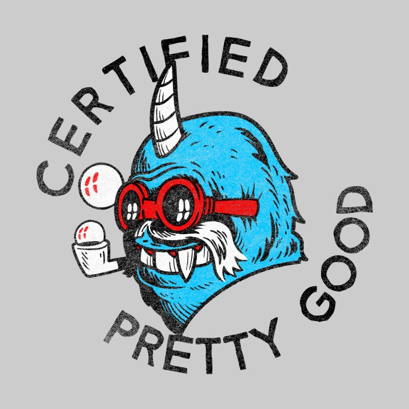 Certified Pretty Good Kids Baby T-Shirt by Gimetzco's Damaged Goods