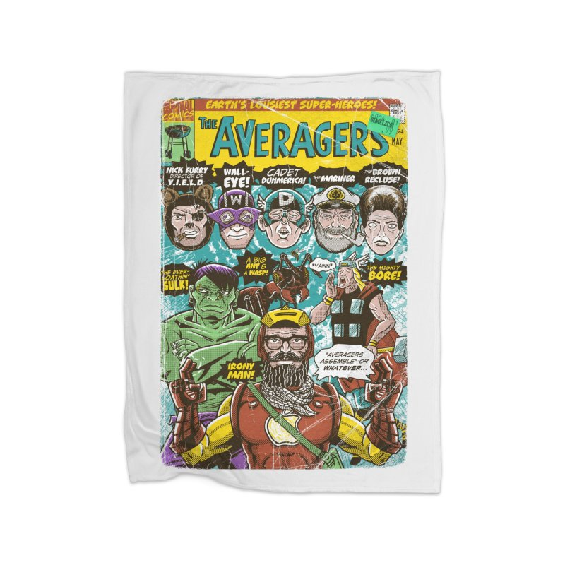 the Averagers Home Blanket by Gimetzco's Damaged Goods