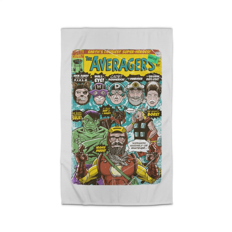 the Averagers Home Rug by Gimetzco's Damaged Goods