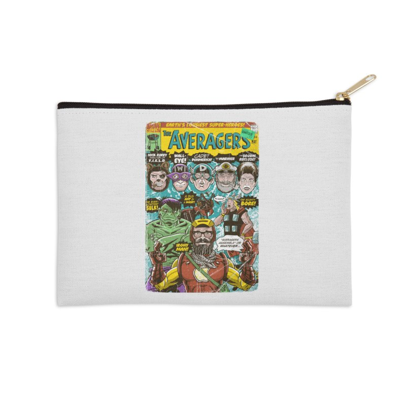 the Averagers Accessories Zip Pouch by Gimetzco's Damaged Goods