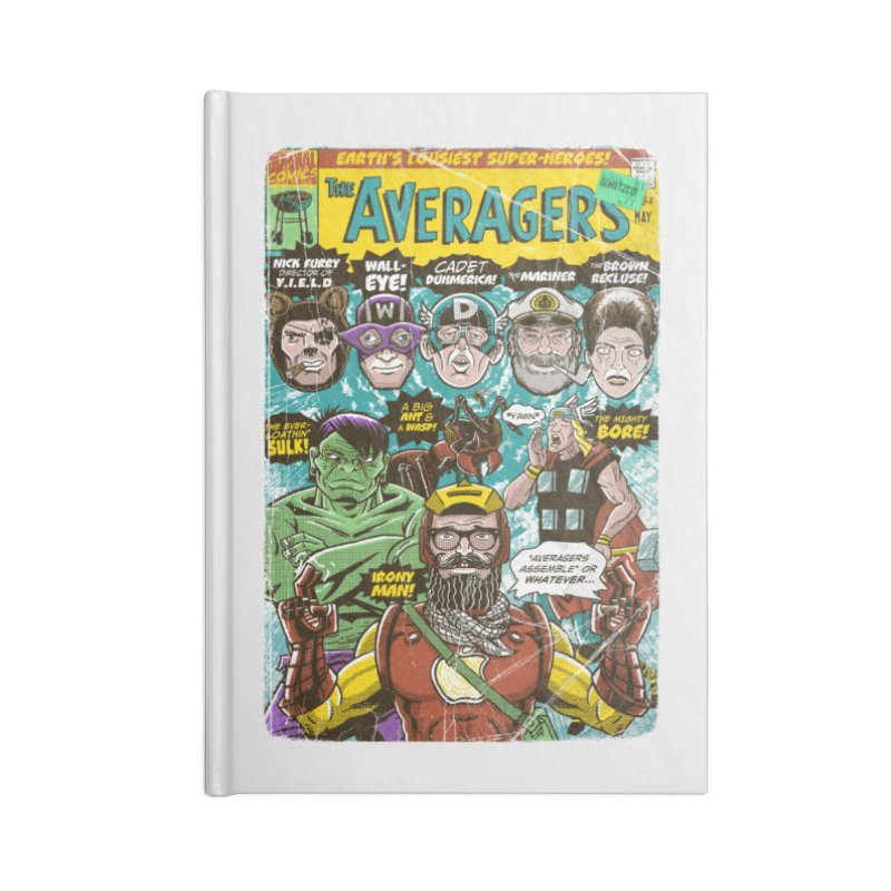the Averagers Accessories Notebook by Gimetzco's Damaged Goods