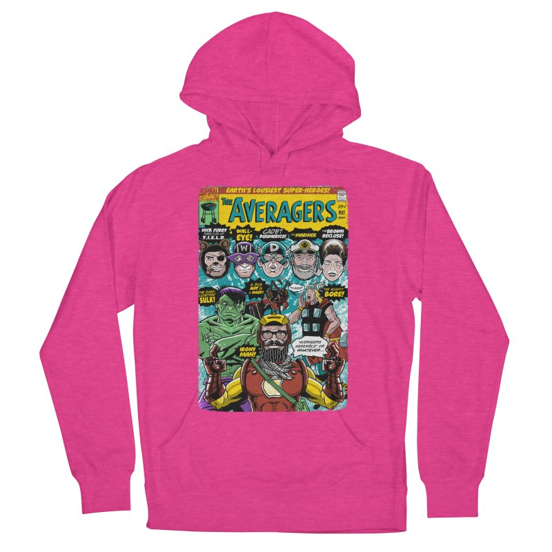 the Averagers Men's Pullover Hoody by Gimetzco's Damaged Goods