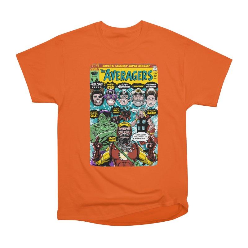the Averagers Women's Heavyweight Unisex T-Shirt by Gimetzco's Damaged Goods