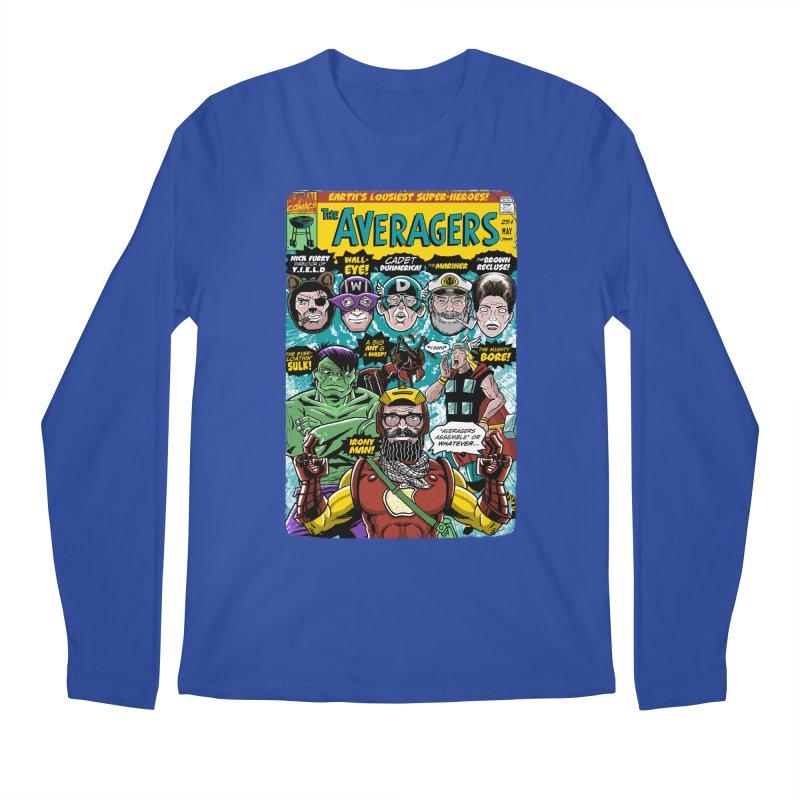 the Averagers Men's Regular Longsleeve T-Shirt by Gimetzco's Damaged Goods
