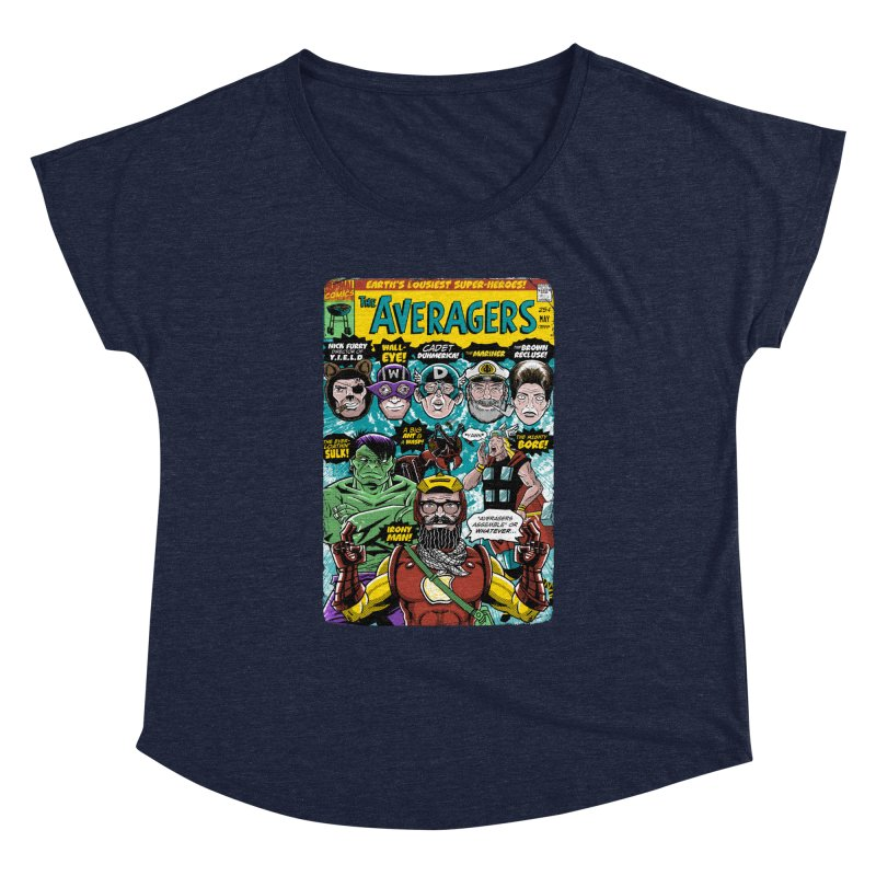 the Averagers Women's Dolman by Gimetzco's Damaged Goods