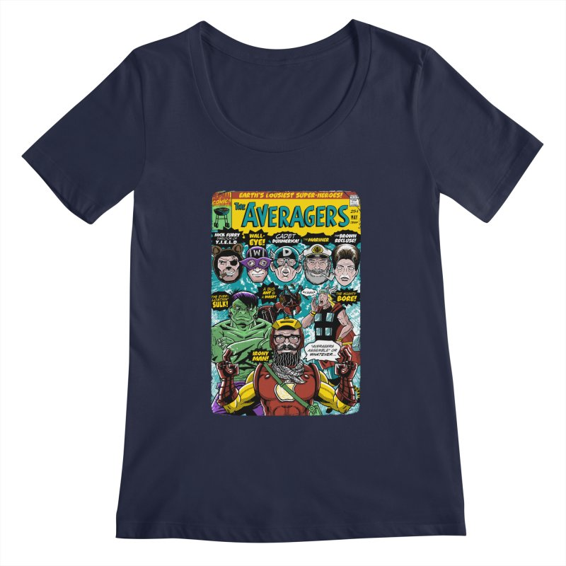 the Averagers Women's Scoopneck by Gimetzco's Damaged Goods