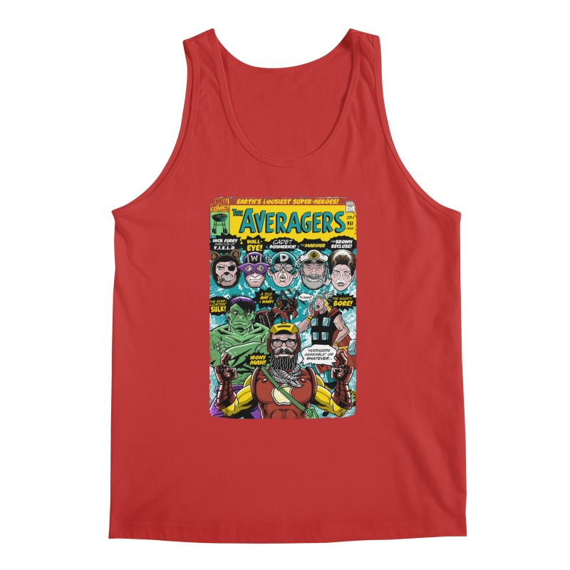 the Averagers Men's Tank by Gimetzco's Damaged Goods