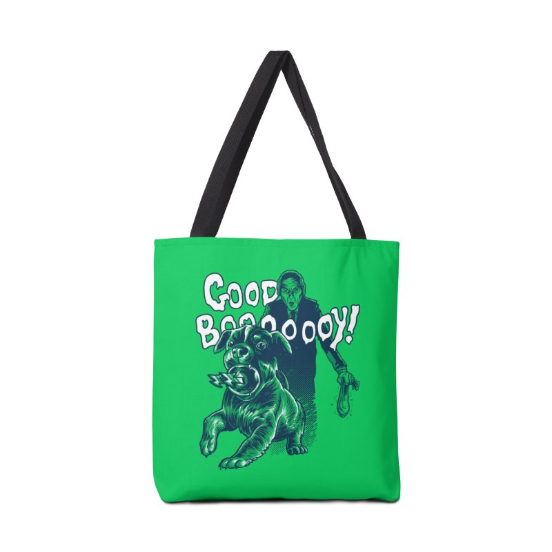 Good Boy (green)! Accessories Bag by Gimetzco's Damaged Goods