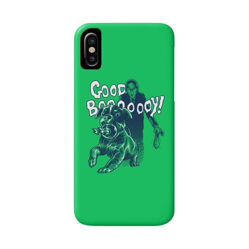 Good Boy (green)! Accessories Beach Towel by Gimetzco's Damaged Goods
