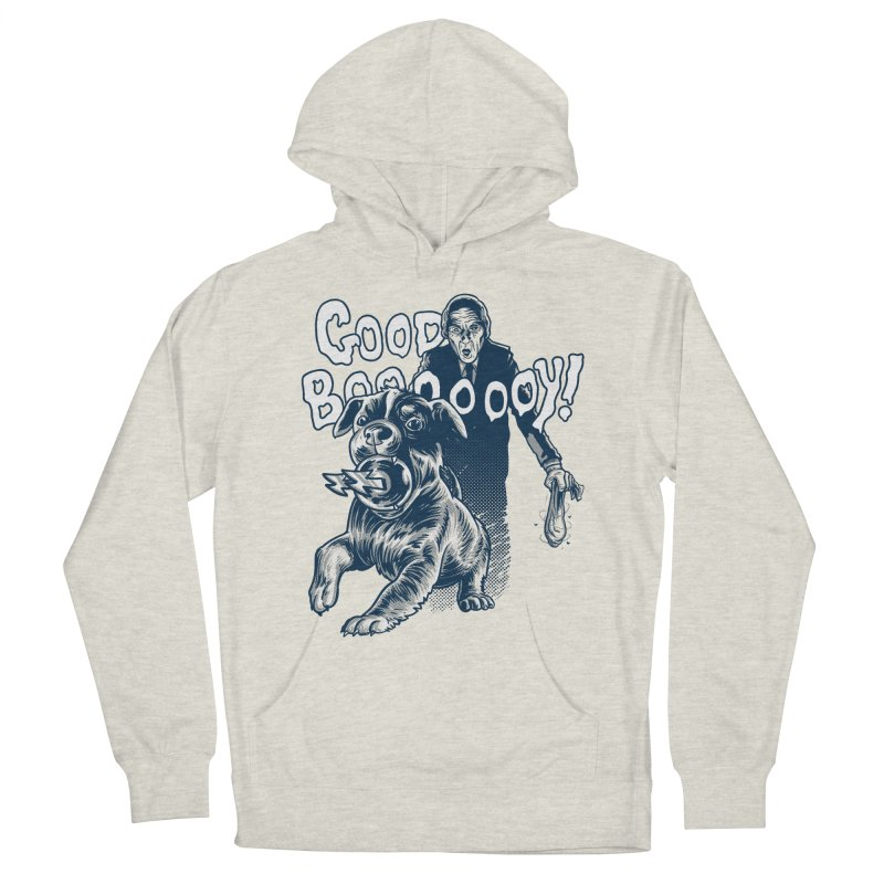 Good Boy (green)! Women's Pullover Hoody by Gimetzco's Damaged Goods