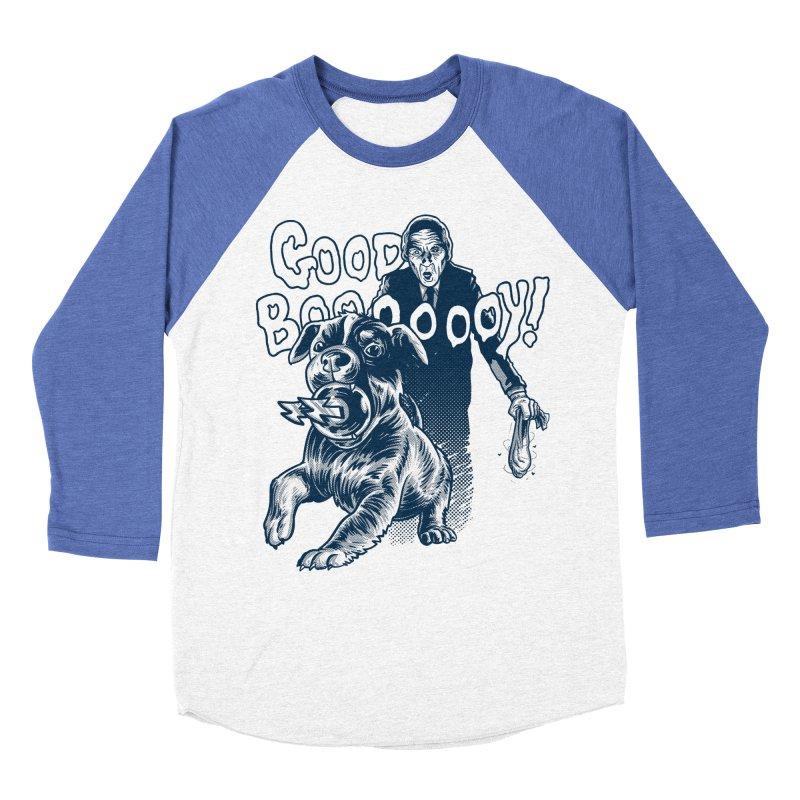 Good Boy (green)! Women's Baseball Triblend T-Shirt by Gimetzco's Damaged Goods