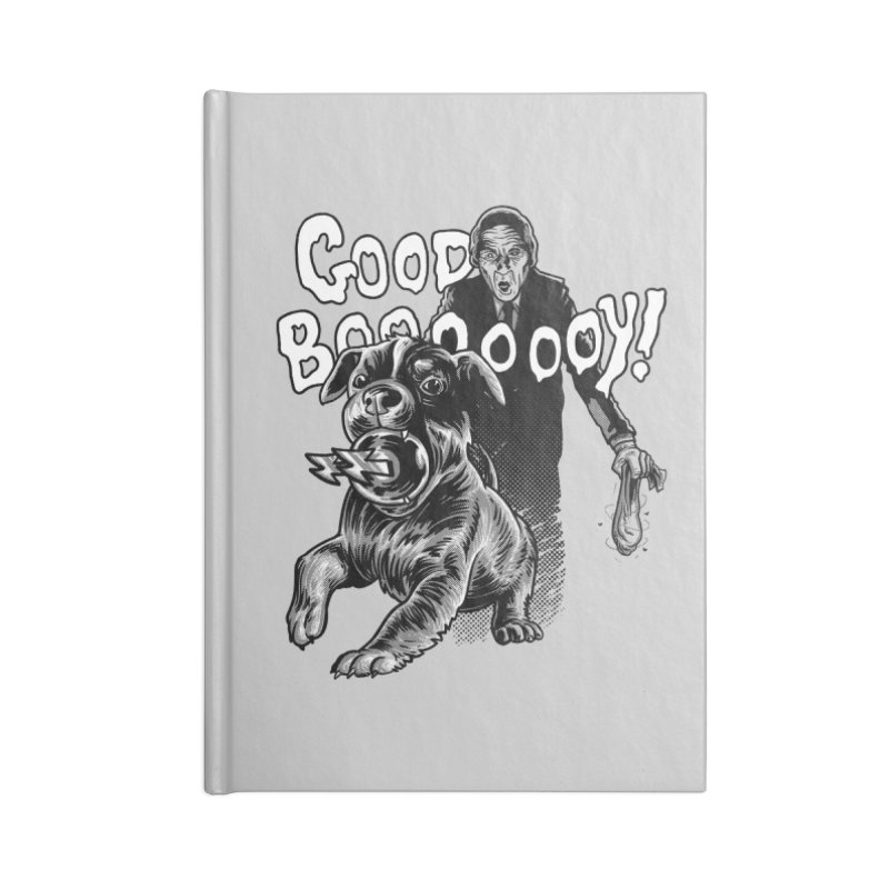 Good boy! Accessories Notebook by Gimetzco's Damaged Goods