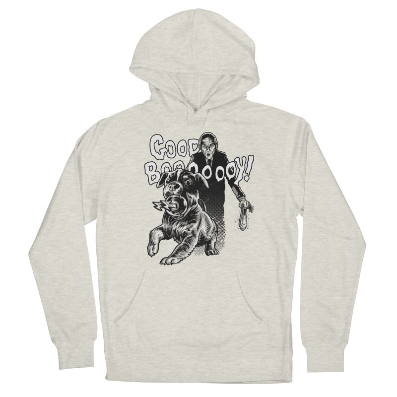 Good boy! Women's Pullover Hoody by Gimetzco's Damaged Goods